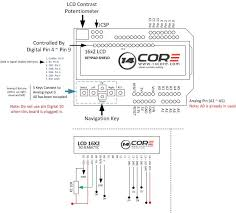 wiring the lcd 16 2 keypad shield on arduino u2013 14core com