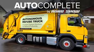build a volvo truck autocomplete volvo unveils its autonomous garbage truck project