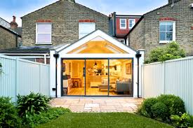 wrap around gable roof kitchen extension the art of building