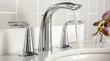 Bath Faucets Bathroom Sink Faucets Tub Fillers And Shower Systems Efaucets Com