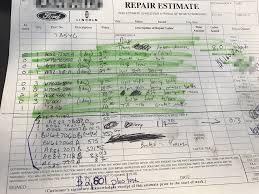Transmission Rebuild Estimate by 2800 Transmission Repair On 12 Powershift Ford Focus Forum