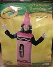 Crayon Halloween Costume Rasta Imposta Crayola Tickle Pink Crayon Child Halloween