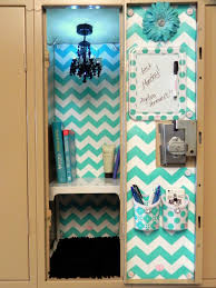 Homemade Decorations For A Girls Room Image Of Blue Diy Locker Decorations Middle Locker