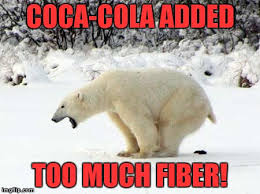 Polar Bear Meme - polar bear shits in the snow meme generator imgflip