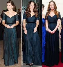 duchess kate duchess kate recycles emilia wickstead dress kate middleton recycles a midnight blue dress for her last night in