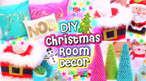 diy christmas decorations 2016 diy holiday room decor youtube