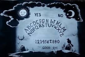 Ouija Coffee Table by Hand Painted Ouija Board Design Coffee Table By Amayatsuki On