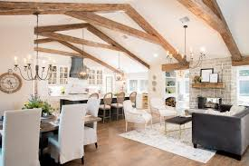 fixer upper meaning season 4 episode 1 faux beams brittany and living spaces