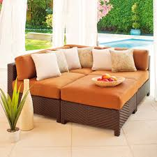 Sectional Chaise Furniture Comfortable Deep Seat Sectional For Your Living Room