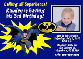 1st Birthday Invitation Card For Baby Boy Birthday Invites Best New Ideas Batman Birthday Invitations