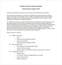 trend analysis report template marketing report template 20 free word pdf documents