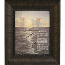 footprints in the sand gifts footprints in the sand framed inspirational poem