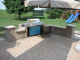 Image Detail For Custom Paver Patio And Outdoor Entertainment - Backyard stone patio designs
