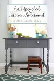 an upcycled kitchen sideboard just a and her blog