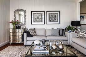 Highgate House Living Rooms Gray Sofa Contemporary Gray Sofa - Light colored living rooms