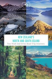 new zealand s and south island two week self drive road