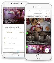 reserve restaurant reservations and recommendations