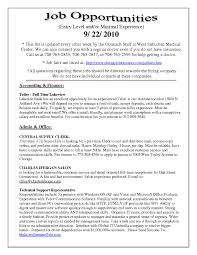 Computer Skills On Sample Resume Sample Resume For Bank Teller With No Experience Resume For Your