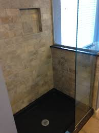 travertine subway wall tile and shower niche the onyx collection
