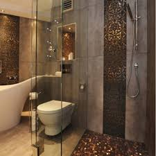 brown tile bathroom home planning ideas 2018