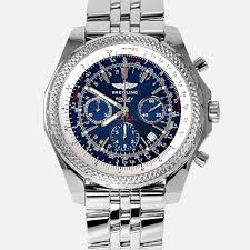 breitling bentley diamond breitling for bentley motors special blue dial edition a25362