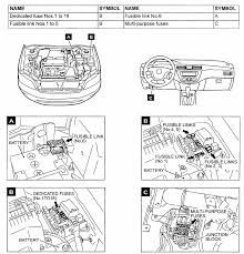 2005 mitsubishi lancer fuse box diagram 2005 wiring diagrams
