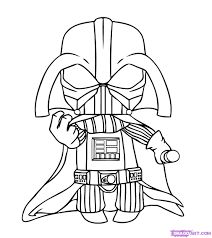 how to draw chibi darth vader step by step chibis draw chibi
