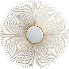 kare design shop spiegel sunbeam ø90cm kare design esszimmer