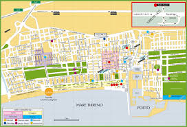 Map Of Florence Italy by Tourist Map Of Viareggio City Centre