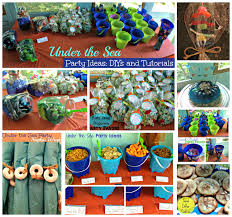 the sea party ideas the everyday momma birthday the sea food and favors