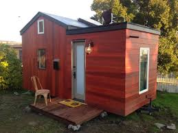 Modern Tiny House On Wheels In Oakland California
