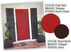 red front door colors red front door paint color posh red