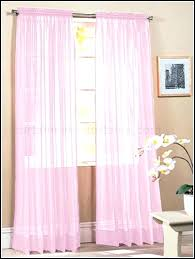 Light Pink Curtains For Nursery Pink Sheer Curtains Rabbitgirl Me
