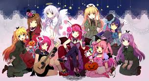 halloween anime pics anime halloween wallpapers page 2 wallpapervortex com