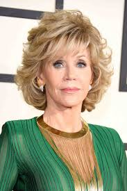 are jane fonda hairstyles wigs or her own hair jane fonda 77 wows in a jumpsuit at the grammy awards see the