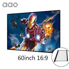 home theater projection screen online get cheap roll projector screen aliexpress com alibaba group