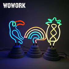 Neon Desk Lamp Neon Light Neon Light Suppliers And Manufacturers At Alibaba Com