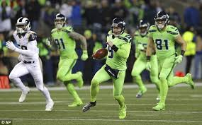 seattle seahawks u0027 bright green color rush uniforms catch twitter u0027s