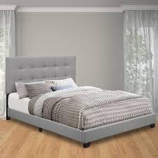 King Headboard And Frame Pulaski Furniture Glacier King Upholstered Bed Ds A125 291 113