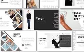 template powerpoint para sites de design e fotografia