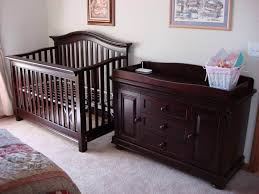 baby cribs with changing table combo in nursery furniture