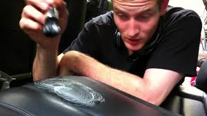 how to shoo car interior at home how to remove an old stain from leather youtube