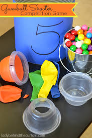 gumball party favors gum birthday party ideas