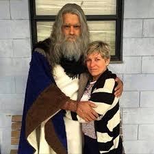 """Moisés de """"Os Dez Mandamentos"""" aparece envelhecido para ..."""