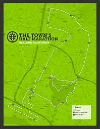 Nyc Marathon Route Map Guest Post The Town U0027s Half Marathon Recap