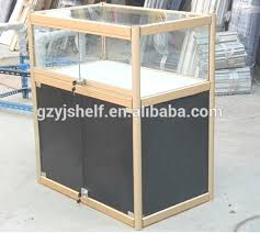 glass counter display cabinet retail store showcase glass display counters small glass display