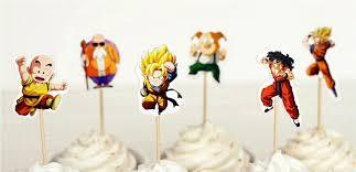 z cake toppers goku vegeta gohan anime z