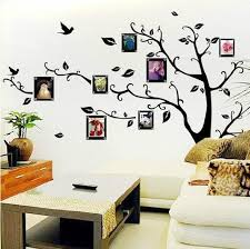 home design family tree wall decal with frames craft room