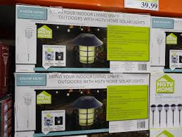 solar spot lights costco hgtv outdoor solar lights smartyard e2 84 a2 led large pathway 8