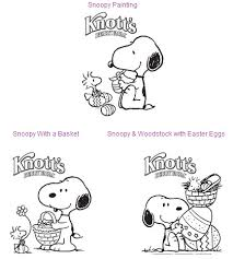free snoopy coloring pages knott u0027s berry farm